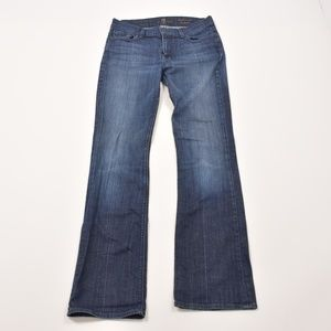 7 FOR ALL MANKIND HIGH WAIST BOOTCUT - SIZE 29